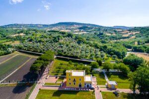 Villa Jamele, il regno di Peppe Zullo, lo chef contadino