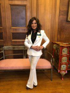 Nancy Dell'Olio,: «L'invidia mi perseguita dalla nascita, torno in Puglia come ambasciatrice»